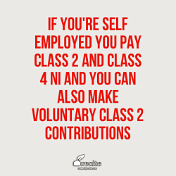 NI contributions for the self-employed